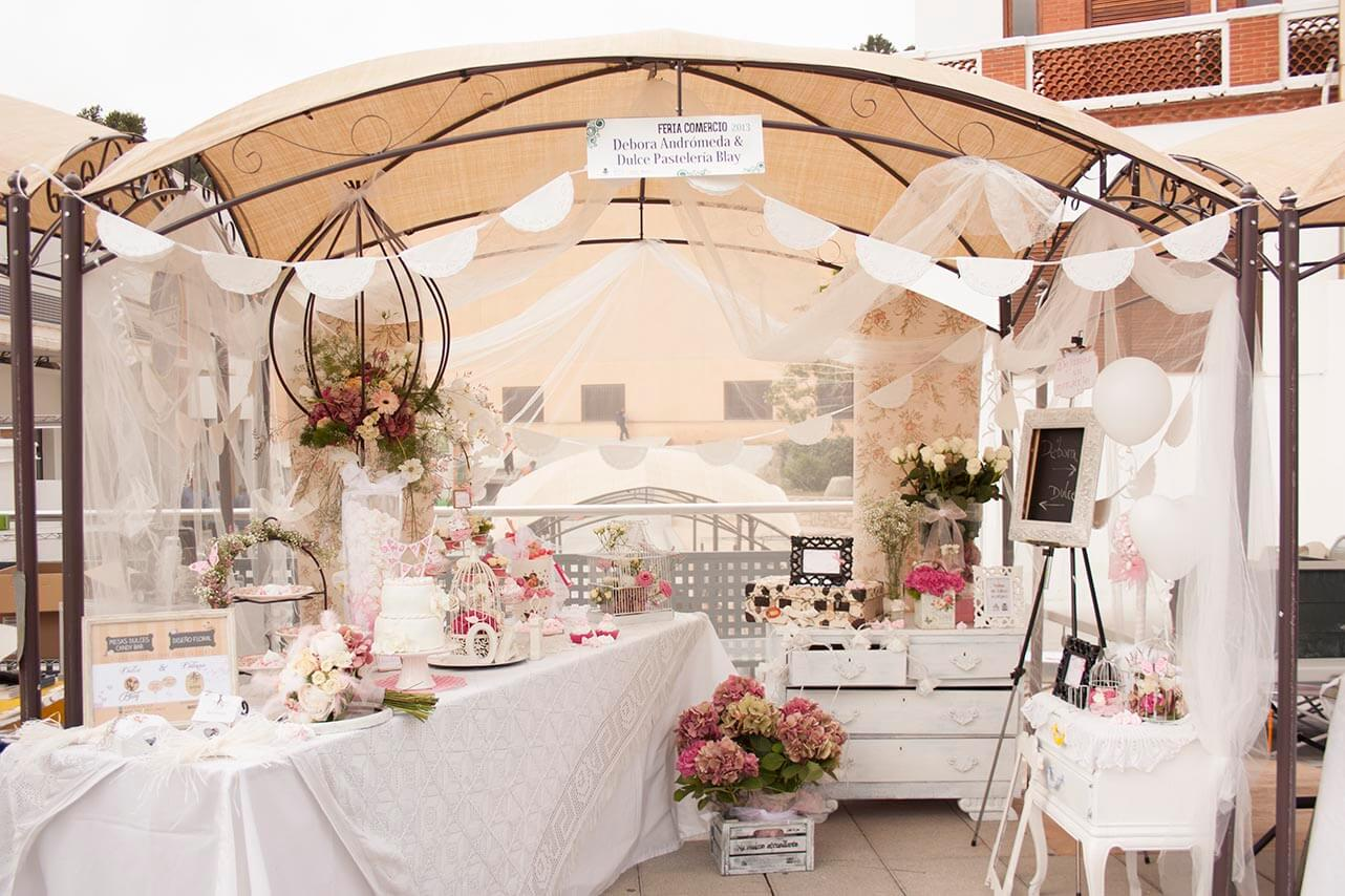 Flores y mesas dulces candy bar andromeda dreams for Dulce boda