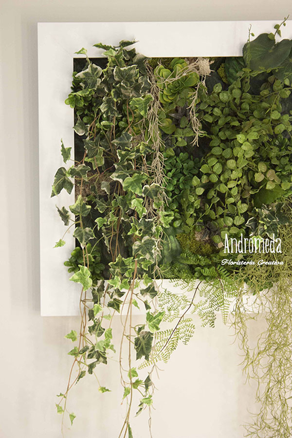 Plantas para jardin vertical un jardn vertical ideas para for Plantas jardin vertical