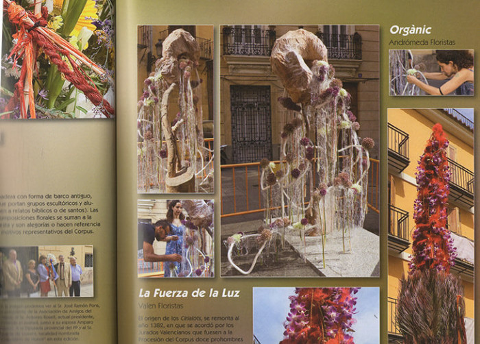 VII Certamen Arte Floral al Corpus Valencia