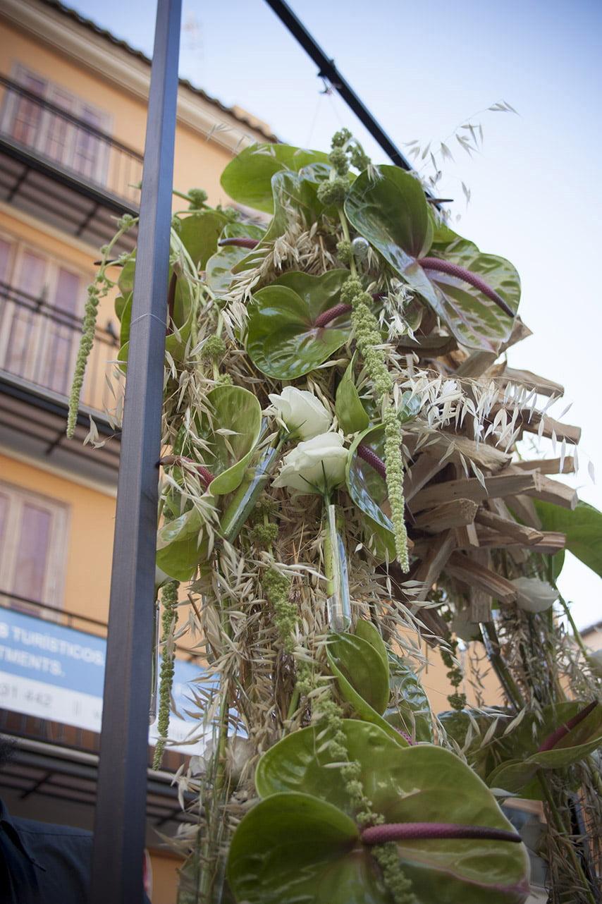Arte floral al corpus 2013