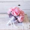 ramo de peonias y hortensia