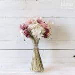 flores artificiales secas preservadas
