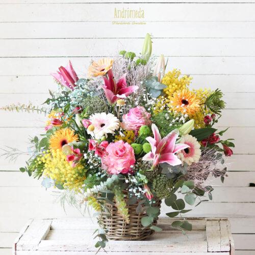 Campestre. Centro de flores
