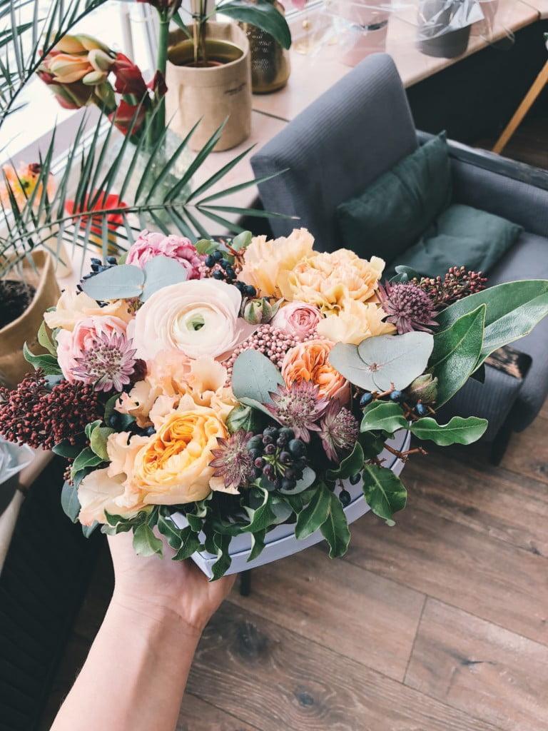 cuidar centro flores naturales