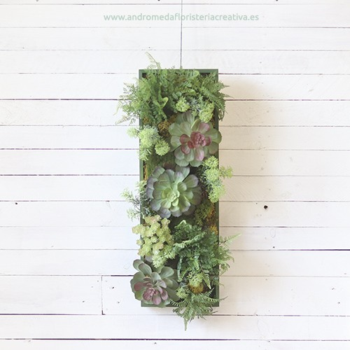 Mural colgante de plantas