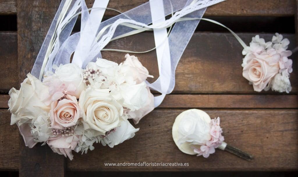 corsage novias