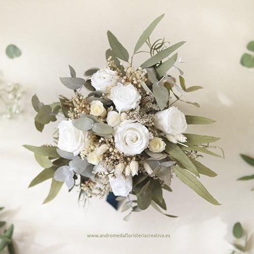 ramo de novia larga duracion